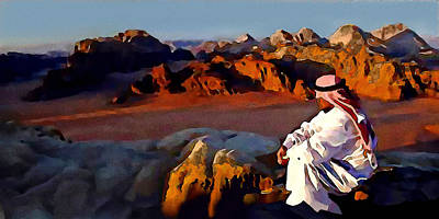 Digital Art - The Bedouin by Jann Paxton