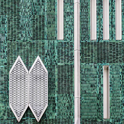 The Netherlands Photograph - The Beehive Wall by Luc Vangindertael (lagrange)