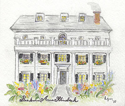 The Beekman Arms In Rhinebeck Art Print by AFineLyne