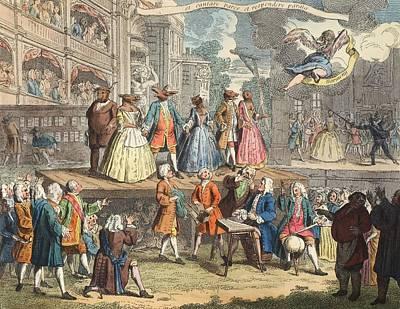 The Beggars Opera, Illustration Art Print by William Hogarth
