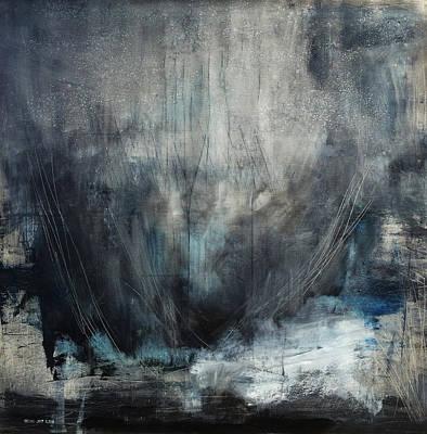 Baselitz Painting - The Beginning  by Antonio Ortiz