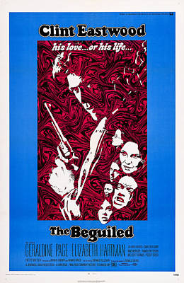 Films By Don Siegel Photograph - The Beguiled, Us Poster, Clint Eastwood by Everett