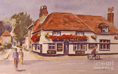 Painting - The Bell Hythe Kent by Beatrice Cloake