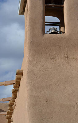 Photograph - The Bell Tower At San Francisco De Asis Mission Church by Nadalyn Larsen