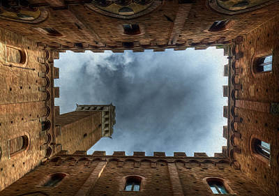 Sienna Italy Digital Art - The Bell Tower by Jon Holland
