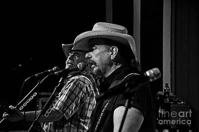 Photograph - The Bellamy Brothers by Paul Mashburn