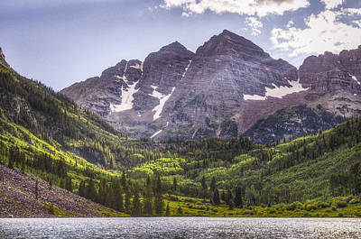 Magnificent Mountain Image Photograph - The Bells by Aaron Spong