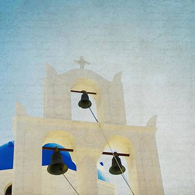 Photograph - The Bells - Santorini by Lisa Parrish