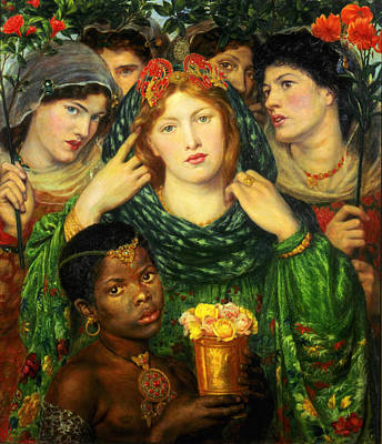 Beloved Painting - The Beloved Bride  by Dante Gabriel Rossetti