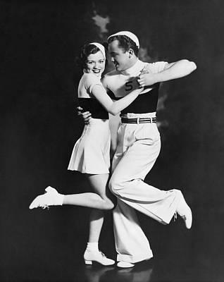 The Bemis Dance Team Print by Underwood Archives