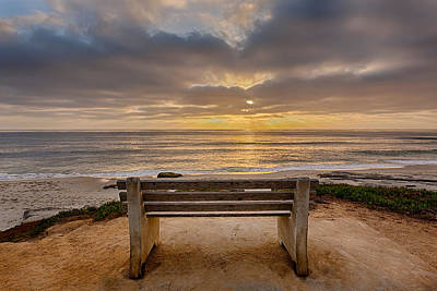 Park Benches Photograph - The Bench Iv by Peter Tellone