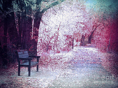 Photograph - The Bench Of Promises by Tara Turner