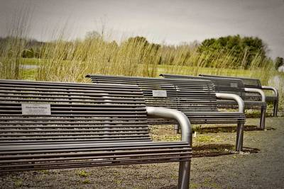 The Benches Art Print by Tom Gari Gallery-Three-Photography