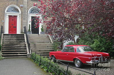 Photograph - The Benz Of Dublin  by Suzanne Oesterling