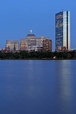 Charles River Photograph - The Berkeley Building Of Boston by Juergen Roth