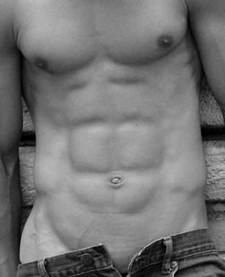 Exposed Photograph - The Best  Abs by Mark Ashkenazi