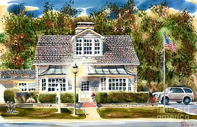 Cape Cod Painting - The Best Cherry Pie by Kip DeVore