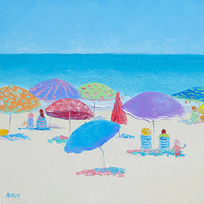 Myrtle Beach Painting - The Best Of Days by Jan Matson