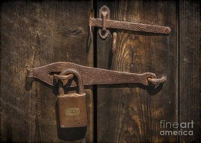 Door Photograph - The Best Of Locks by Susan Candelario