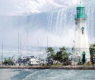 Digital Art - The Best Of Niagara by Iris Gelbart