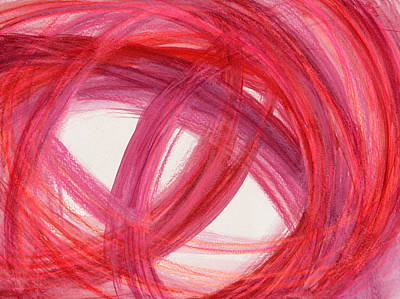 Abstract Movement Drawing - The Best Way Out-3 by Kelly K H B