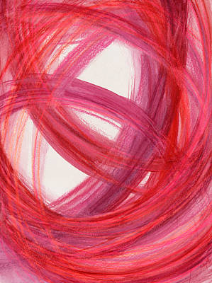 Abstract Movement Drawing - The Best Way Out-4 by Kelly K H B