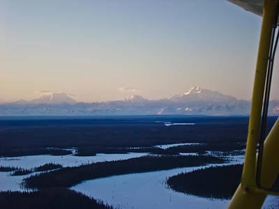 Denali National Park Photograph - The Best Way To See Alaska by Dora Miller