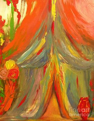 Painting - The Betrothal Tent 2 by Deborah Montana