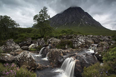 Stob Dearg Photograph - The Beuckle - Buachaille Etive Mor by Karen Appleyard Photography