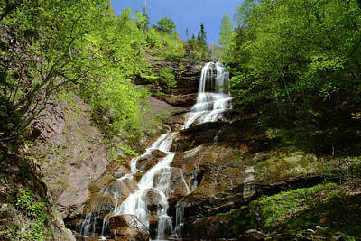 The Beulach Ban Waterfalls On The North Art Print by Darlyne A. Murawski
