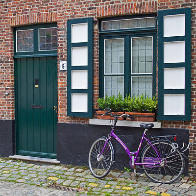 Photograph - The Bicycle At Number 5 by David Freuthal
