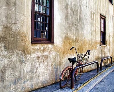 The Bicycle Art Print by Deborah Benoit