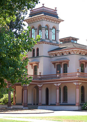 Photograph - The Bidwell Mansion by Holly Blunkall