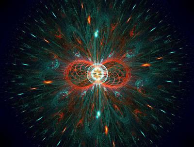 Photograph - The Big Bang by Radoslav Nedelchev