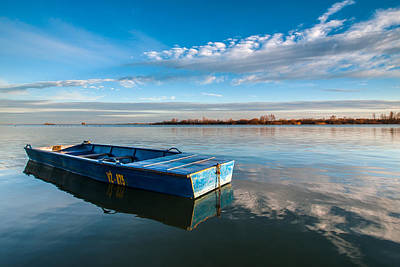 Water Vessels Photograph - The Big Blue by Davorin Mance