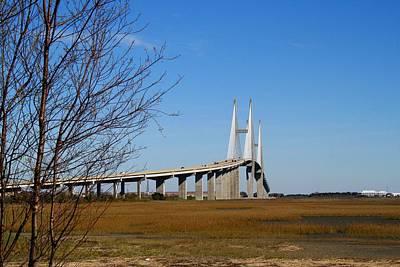 Photograph - The Big Bridge by Kathryn Meyer
