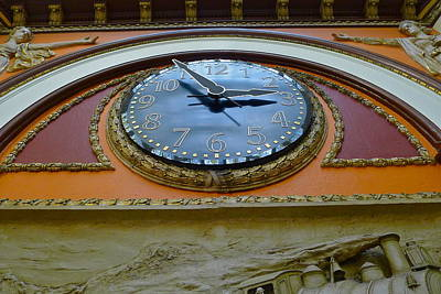 Photograph - The Big Clock by Denise Mazzocco