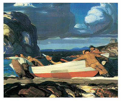 The Big Dory Art Print by George Bellows