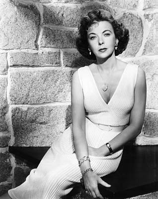 1950s Movies Photograph - The Big Knife, Ida Lupino, 1955 by Everett