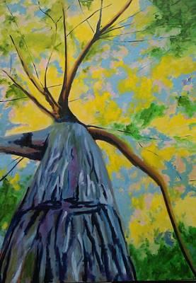 The Big Oak Art Print by Piotr Wolodkowicz