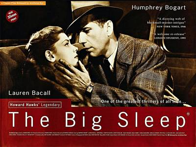 Humphrey Bogart Photograph - The Big Sleep  by Movie Poster Prints