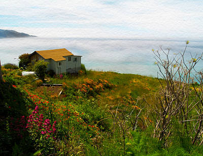 Photograph - The Big Sur Coast Lucia Ca by Joe Schofield