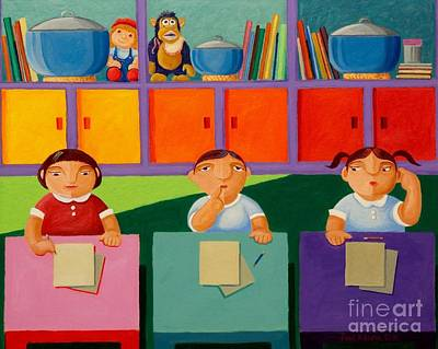 Filipino Painting - The Bigger Rice Pot by Paul Hilario