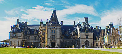 Photograph - The Biltmore Estate by Luther Fine Art