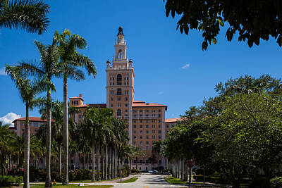 Photograph - The Biltmore In Coral Gables by Ed Gleichman