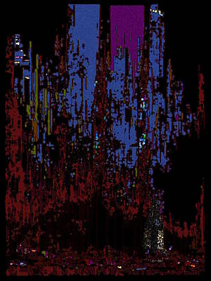 The Binge Art Print by Tim Allen