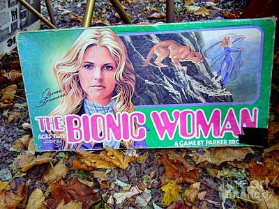 The Bionic Woman Art Print