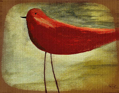 Painting - The Bird - 08b by Variance Collections