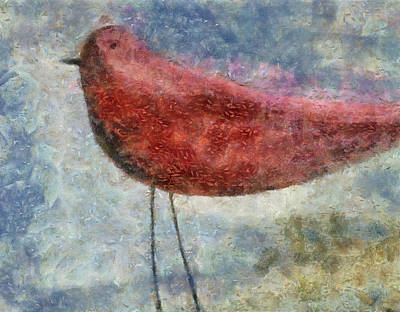 Painting - The Bird 09 by Variance Collections