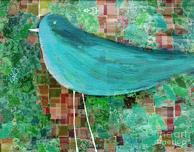Painting - The Bird - 23a1c2 by Variance Collections